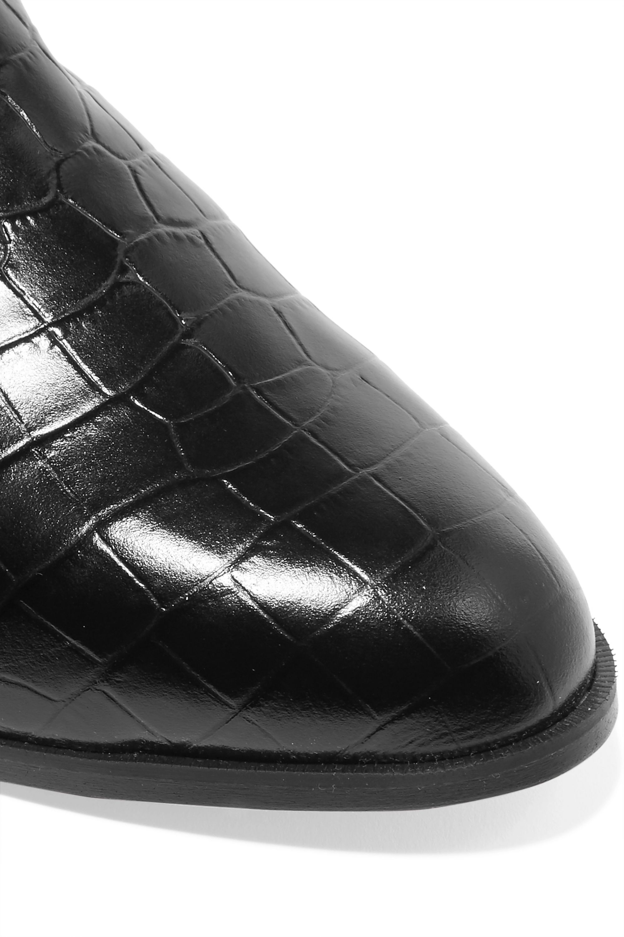 Clergerie Alicek croc-effect leather slippers