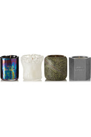 Tom Dixon Materialism set of four candles, 4 x120g