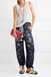 Chloé EXCLUSIVE Printed cady pants