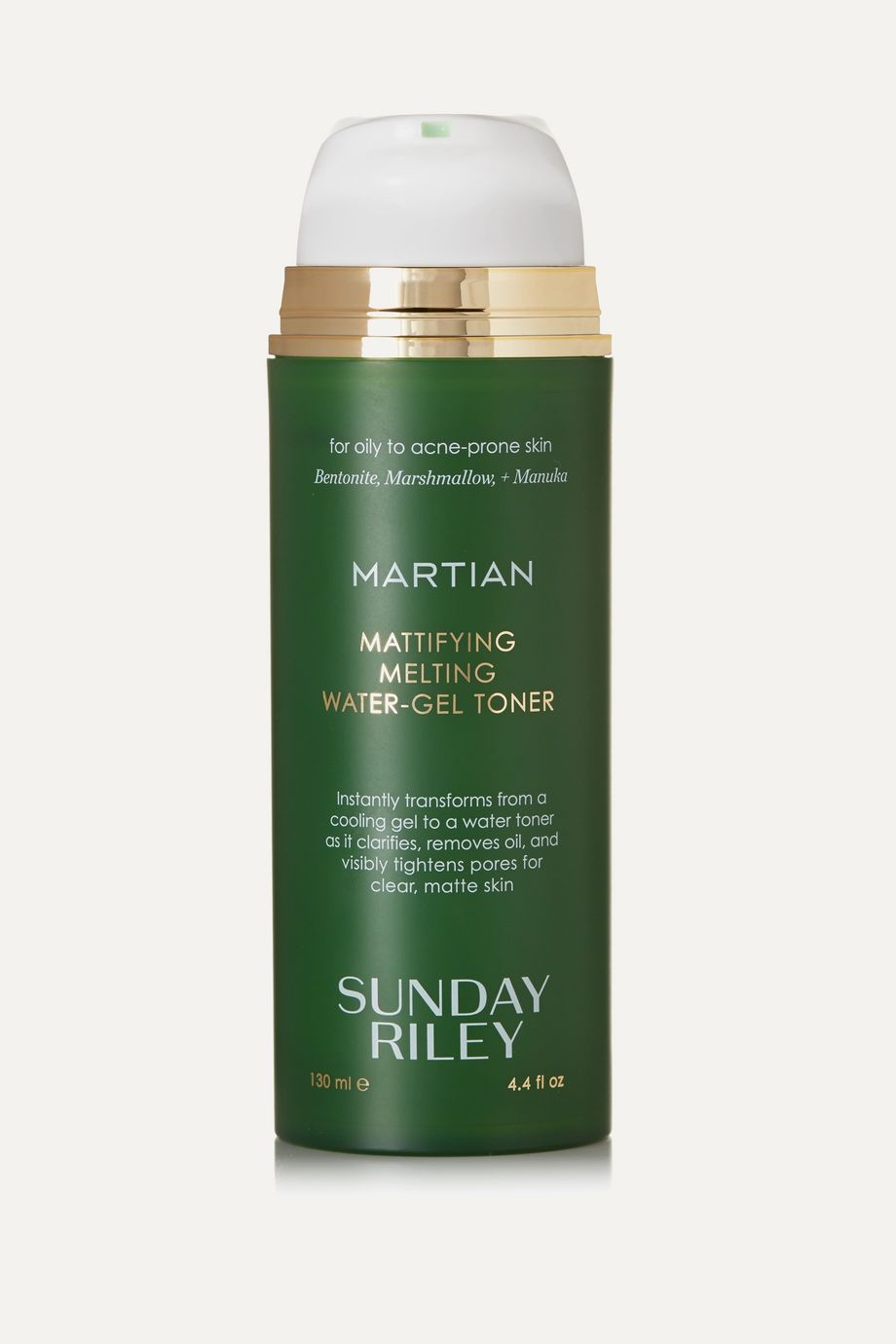 Sunday Riley Martian Mattifying Melting Water-Gel Toner, 130ml