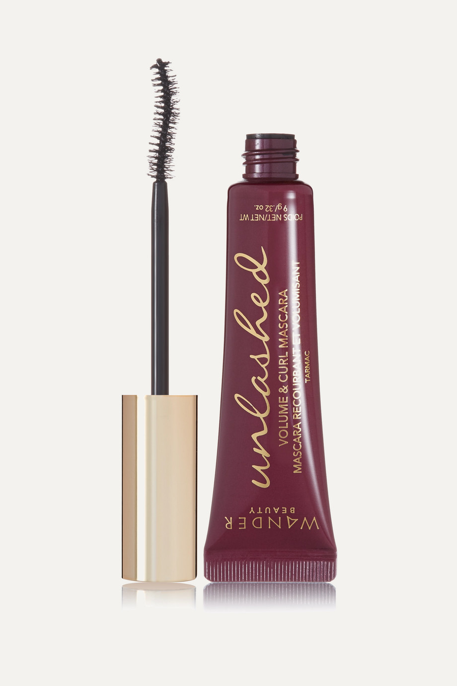 Wander Beauty Unlashed Volume and Curl Mascara - Tarmac