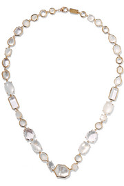 Rock Candy® Sofia 18-karat gold multi-stone necklace