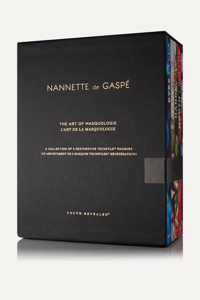 NANNETTE DE GASPÉ Art Of Masquologie - Set Of 5 Masques in Colorless