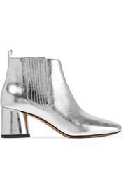 Rocket metallic leather Chelsea boots