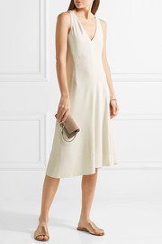 Theory Asymmetric crepe dress