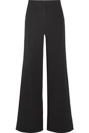 Theory Terena stretch-crepe wide-leg pants