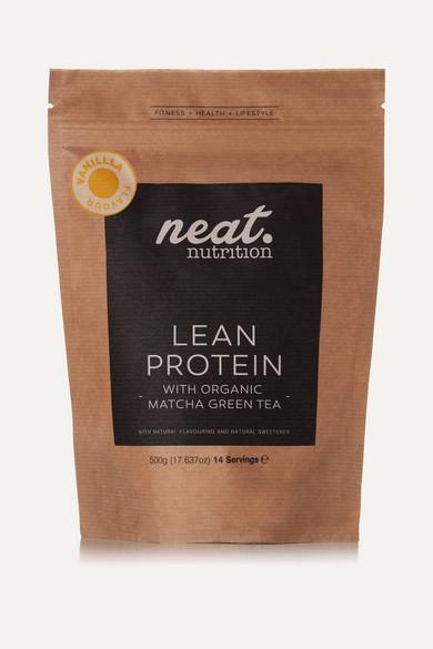neat nutrition female neat nutrition lean protein vanilla 500g