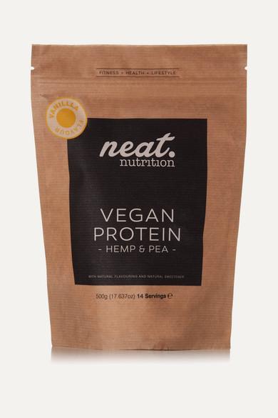 neat nutrition female neat nutrition hemp and pea vegan protein vanilla 500g