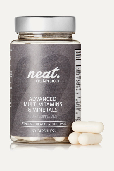 neat nutrition female neat nutrition advanced multivitamins minerals 60 capsules one size