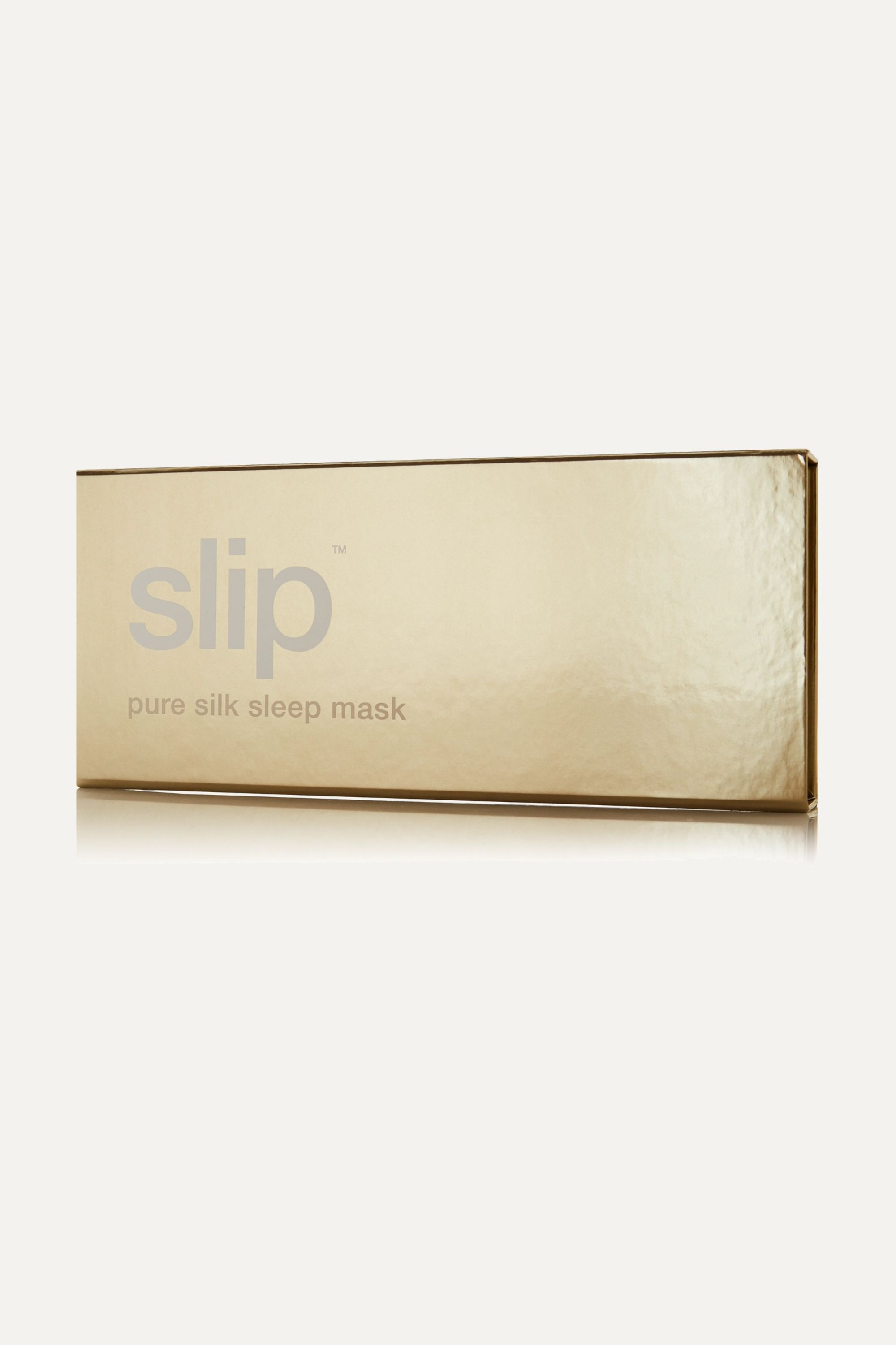 Slip Embroidered silk eye mask
