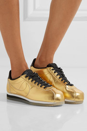 Nike Classic Cortez metallic leather sneakers