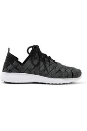 Nike Juvenate Premium faux textured leather-trimmed woven sneakers