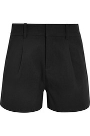 Totême Durum crepe shorts