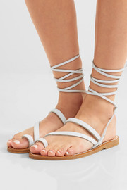 K Jacques St Tropez Ellada leather sandals
