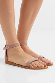 K Jacques St Tropez Laura suede sandals
