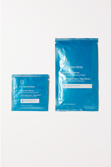 Dr. Dennis Gross Skincare - Hyaluronic Marine Hydrating Modeling Mask X 4 - Colorless