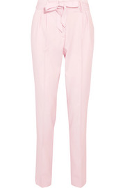 Gabriela Hearst Magnus pleated wool tapered pants