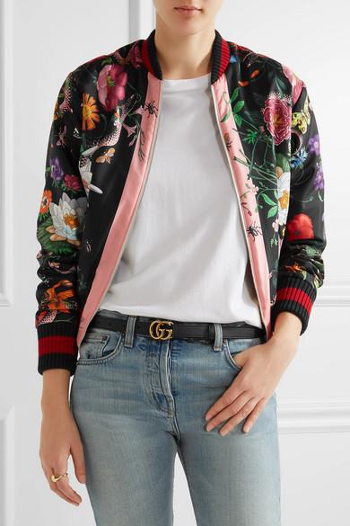c9b177a3f2ca Gucci | Leather belt | NET-A-PORTER.COM