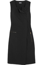 Tomas Maier Cotton-blend poplin dress