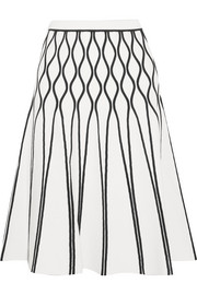 Tomas Maier A Bomb stretch-knit midi skirt