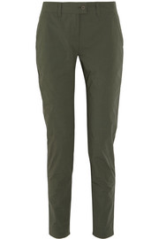 Tomas Maier Cotton-blend tapered pants