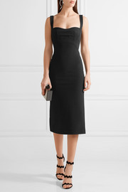 Dion Lee Stretch-ponte midi dress