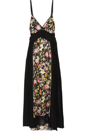 3.1 Phillip Lim Cutout printed silk midi dress