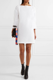 3.1 Phillip Lim Gathered brushed cotton-poplin dress