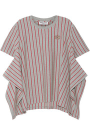 Opening Ceremony Striped stretch-cotton jersey T-shirt