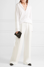 Elizabeth and James Stevie stretch-crepe wide-leg pants