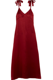 Reformation Silk maxi dress