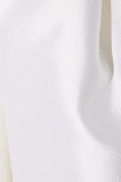 Gabriela Hearst Tituba Strapless Robe From A Silk-wool Blend