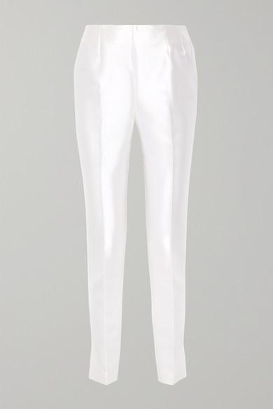 Gabriela Hearst Chapman eng geschnittene Hose aus einer Seiden-Wollmischung Verkauf Billig OF2Ejd