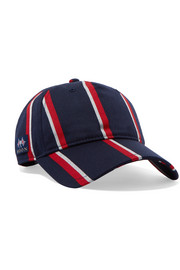 Marilyn striped wool and cotton-blend baseball cap