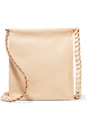 The Row Medicine textured-leather shoulder bag