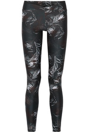 V printed stretch-Supplex leggings