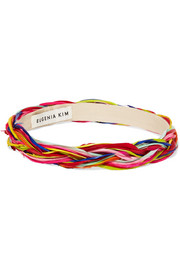 Eugenia Kim Giana braided feather headband