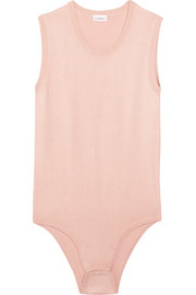 La Perla Soul stretch-silk bodysuit