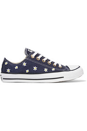 Converse Chuck Taylor All Star embroidered denim sneakers