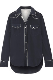 rag & bone Jesse silk crepe de chine shirt