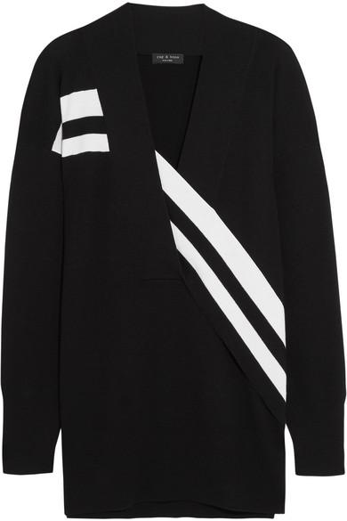 acf7c1a0f rag   bone. Grace striped merino wool sweater