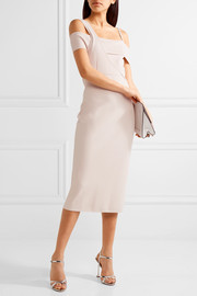 Jason Wu Asymmetric stretch-knit midi dress