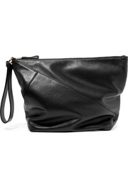 Diane von Furstenberg Origami leather clutch