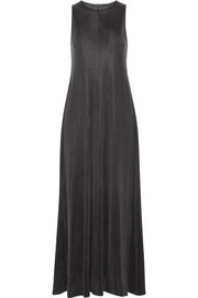 The Row Avel satin-jersey maxi dress