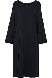 The Row Lang oversized stretch-crepe midi dress