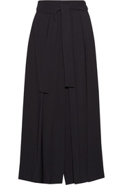 The Row Skannt belted pleated wide-leg pants