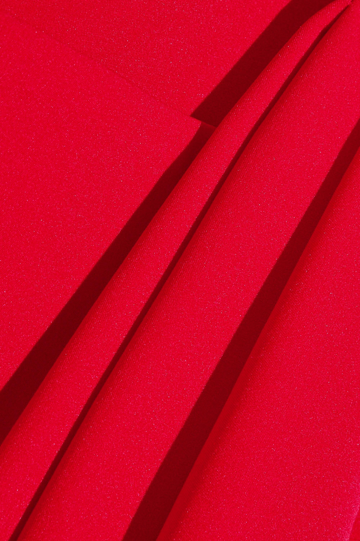 Preen by Thornton Bregazzi Finella pleated stretch-crepe midi dress