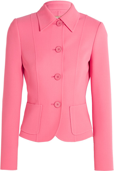 Michael Kors Collection - Stretch-wool Jacket - Pink