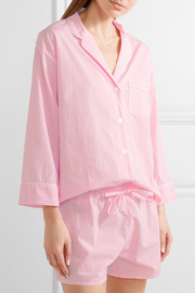 Marina and Paloma gingham cotton pajama set
