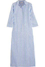 Celia striped linen kaftan
